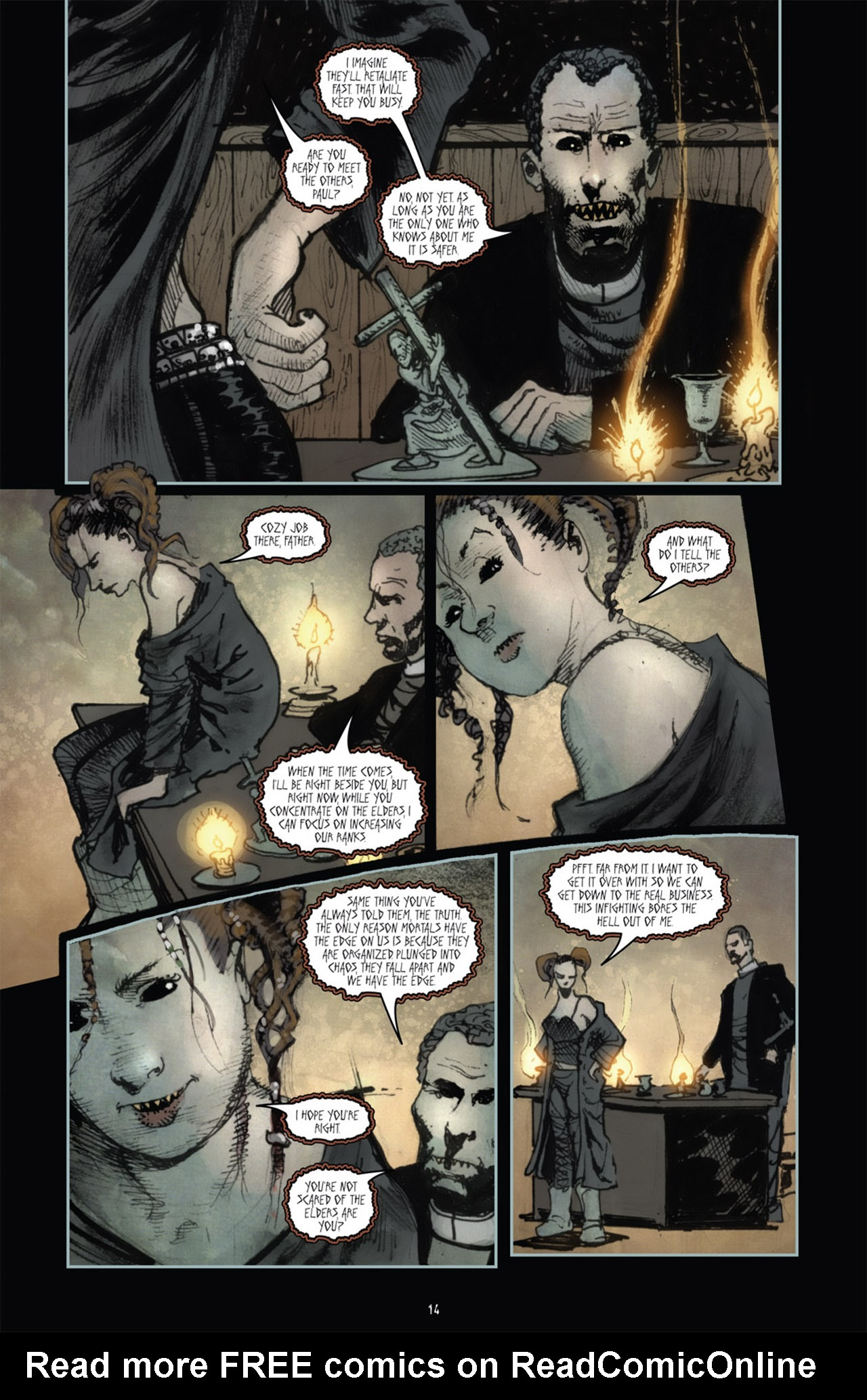 Read online 30 Days of Night (2011) comic -  Issue #1 - 18