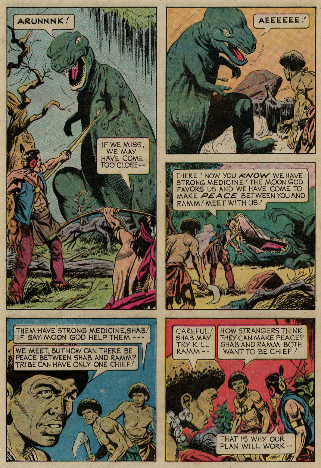 Read online Turok, Son of Stone comic -  Issue #98 - 25