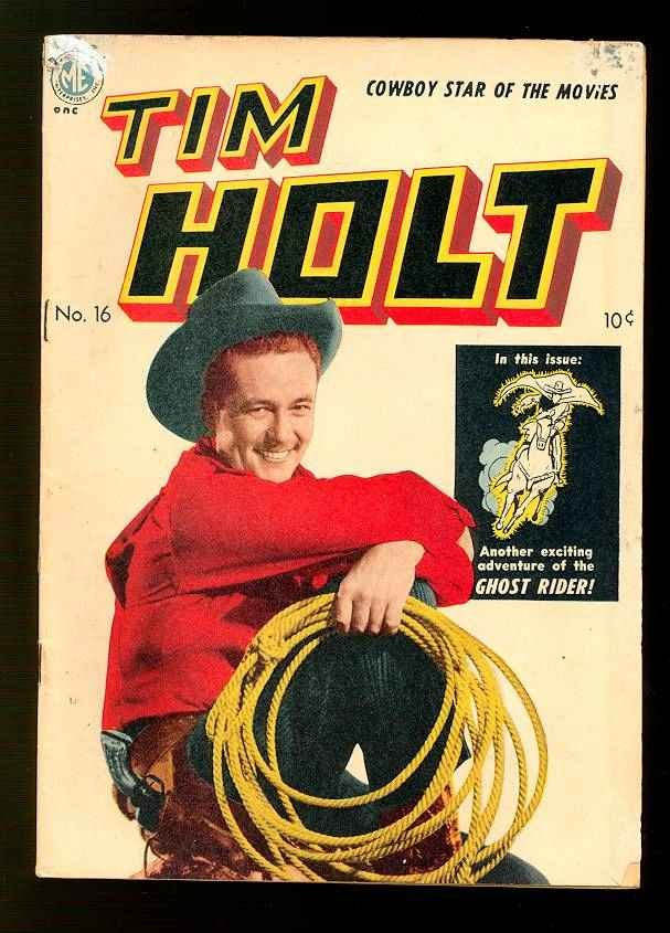 Tim Holt 16 Page 1