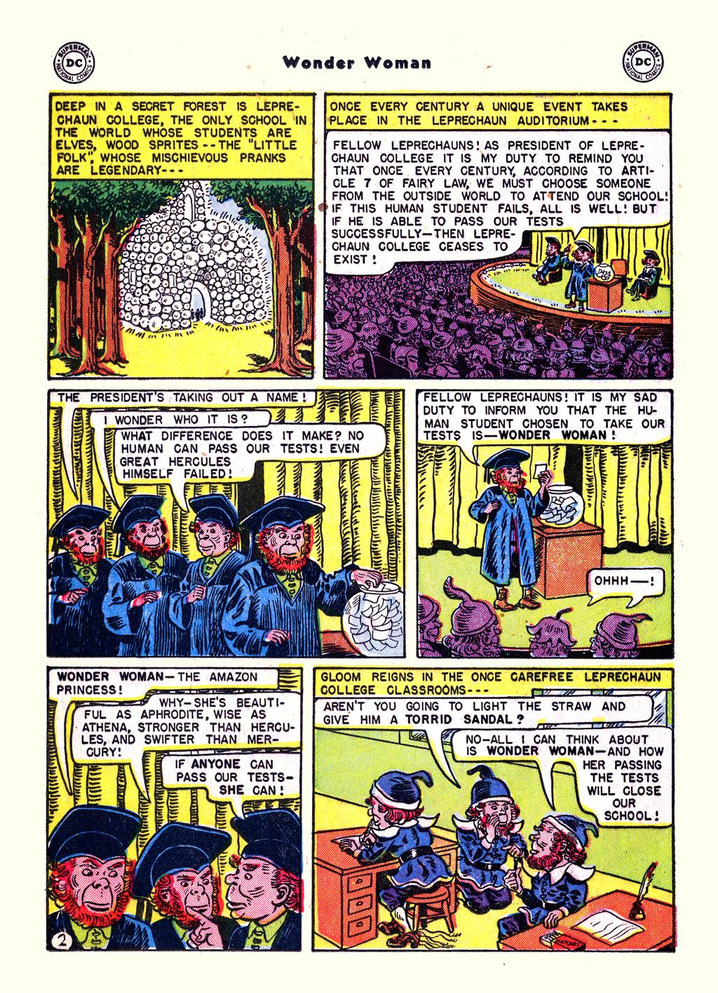 Read online Wonder Woman (1942) comic -  Issue #59 - 16