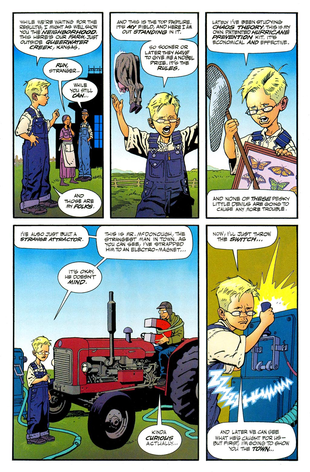 Read online ABC: A-Z, Tom Strong and Jack B. Quick comic -  Issue #ABC: A-Z, Tom Strong and Jack B. Quick Full - 13
