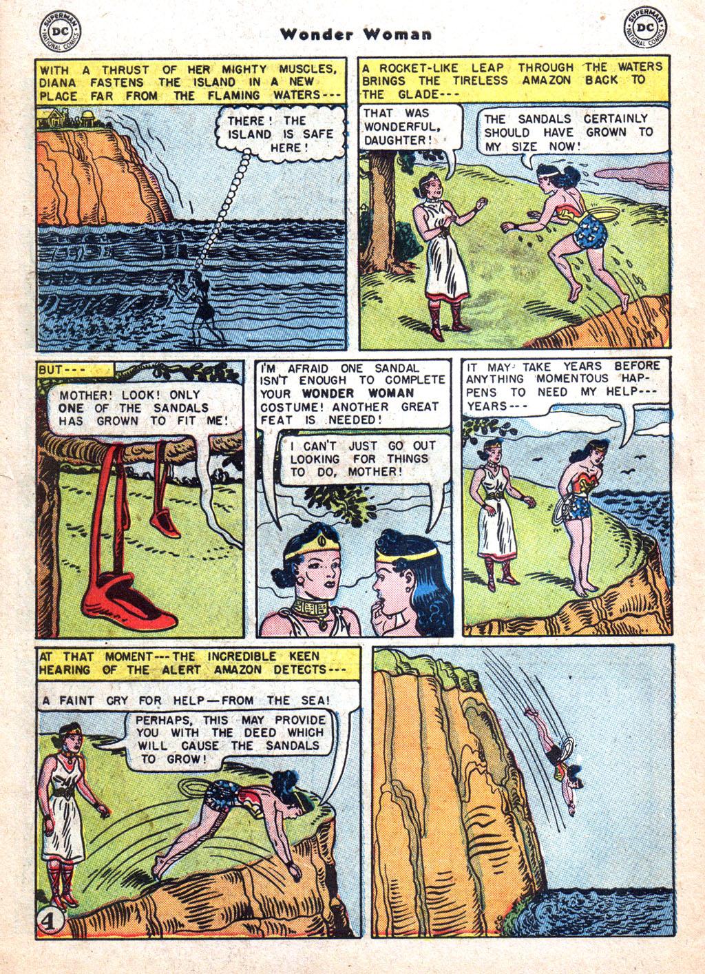 Read online Wonder Woman (1942) comic -  Issue #72 - 30