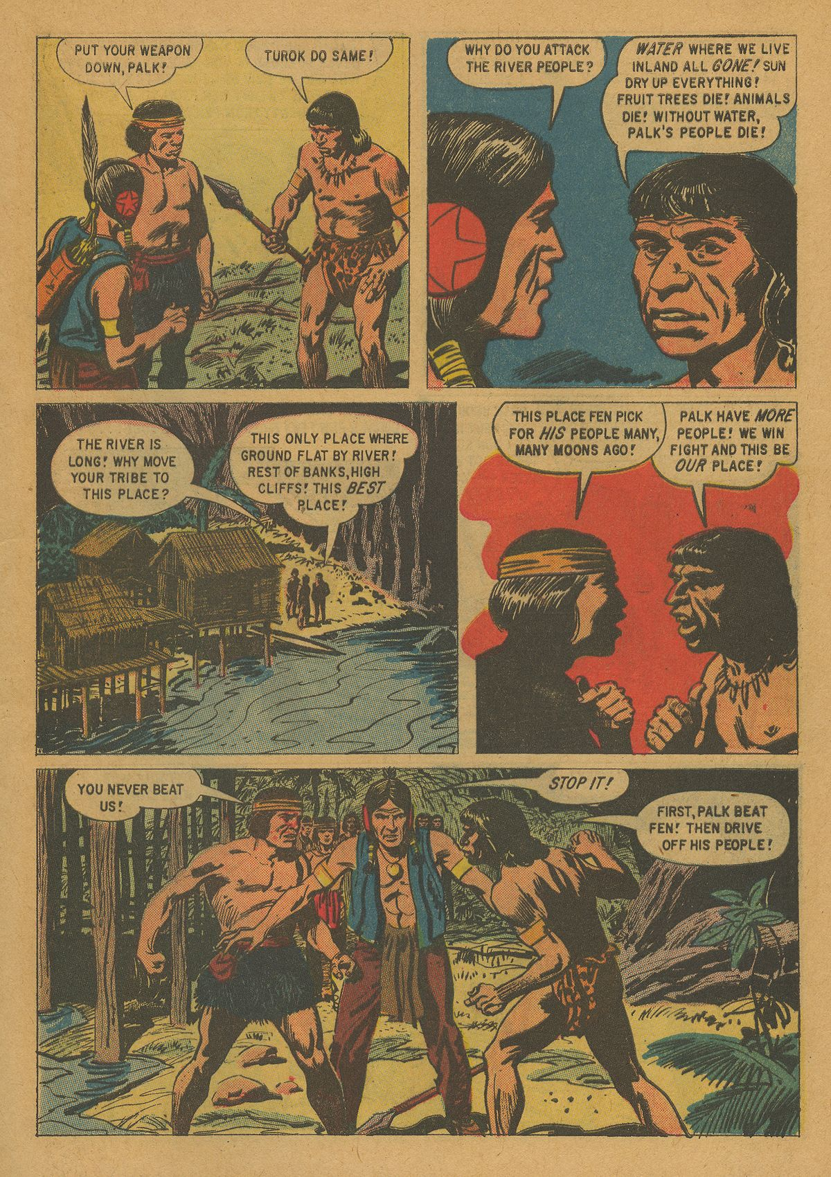 Read online Turok, Son of Stone comic -  Issue #21 - 5