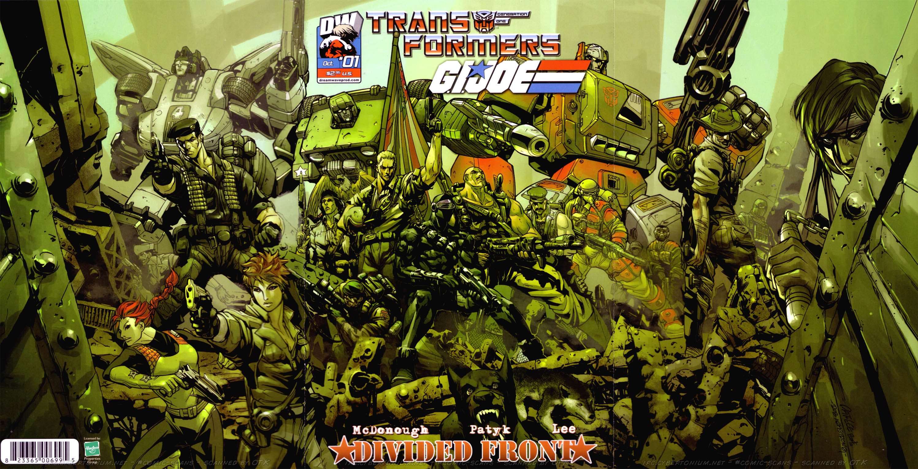 Read online Transformers/G.I. Joe: Divided Front comic -  Issue # Full - 2