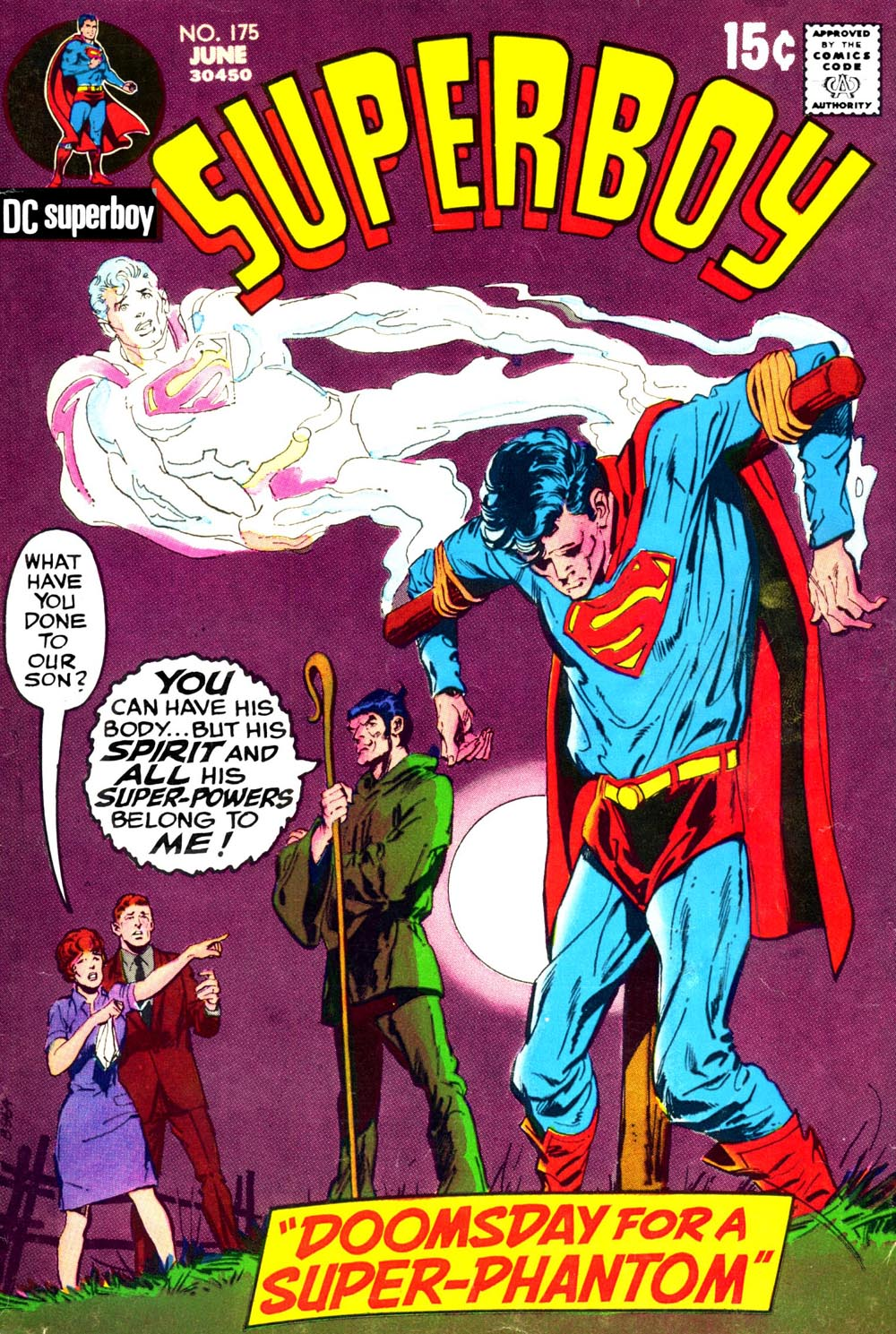 Superboy (1949) issue 175 - Page 1