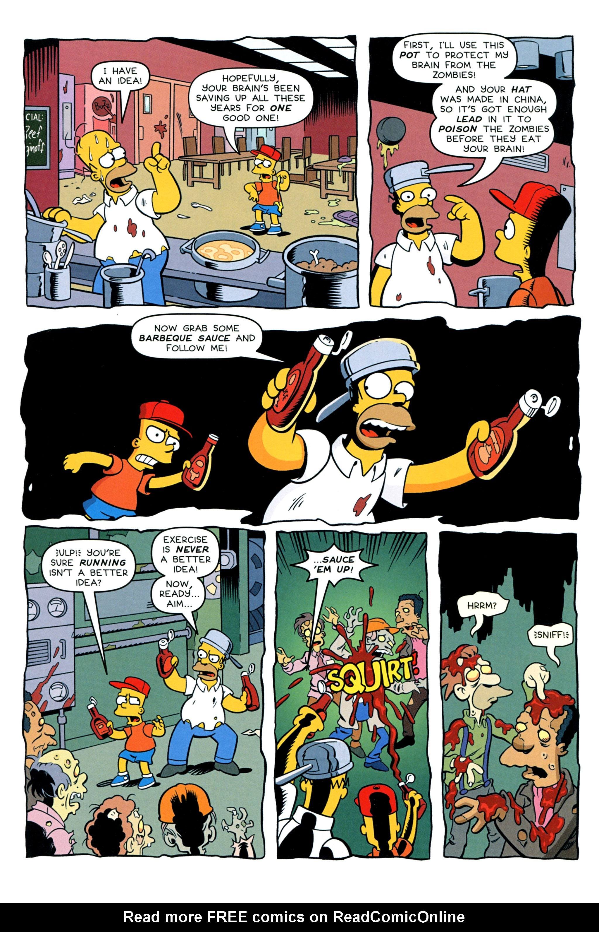 Read online Treehouse of Horror comic -  Issue #20 - 40