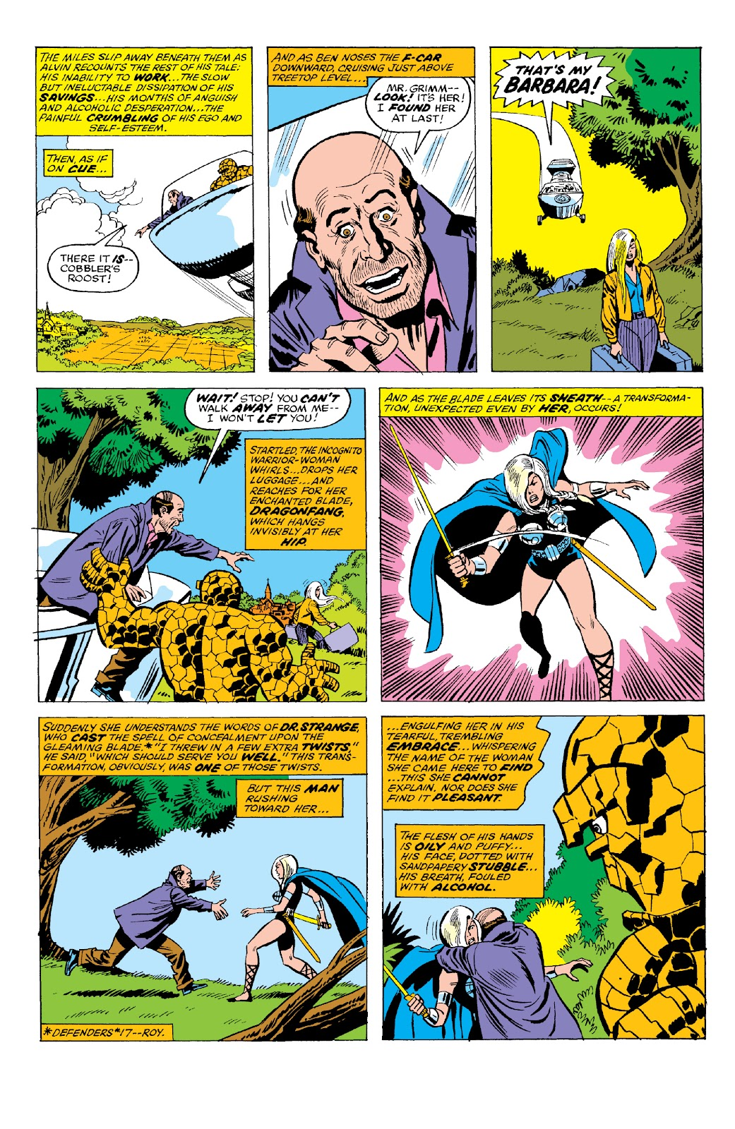 Read online Marvel Two-In-One Epic Collection: Cry Monster comic -  Issue # TPB (Part 2) - 72