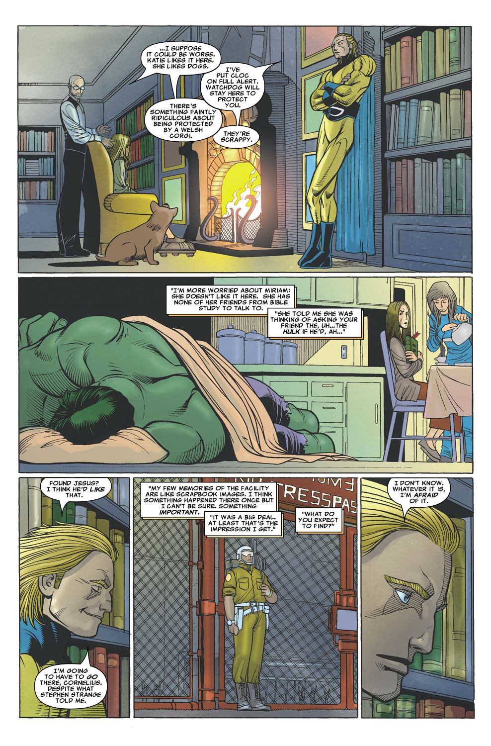 Read online Sentry (2006) comic -  Issue #6 - 17