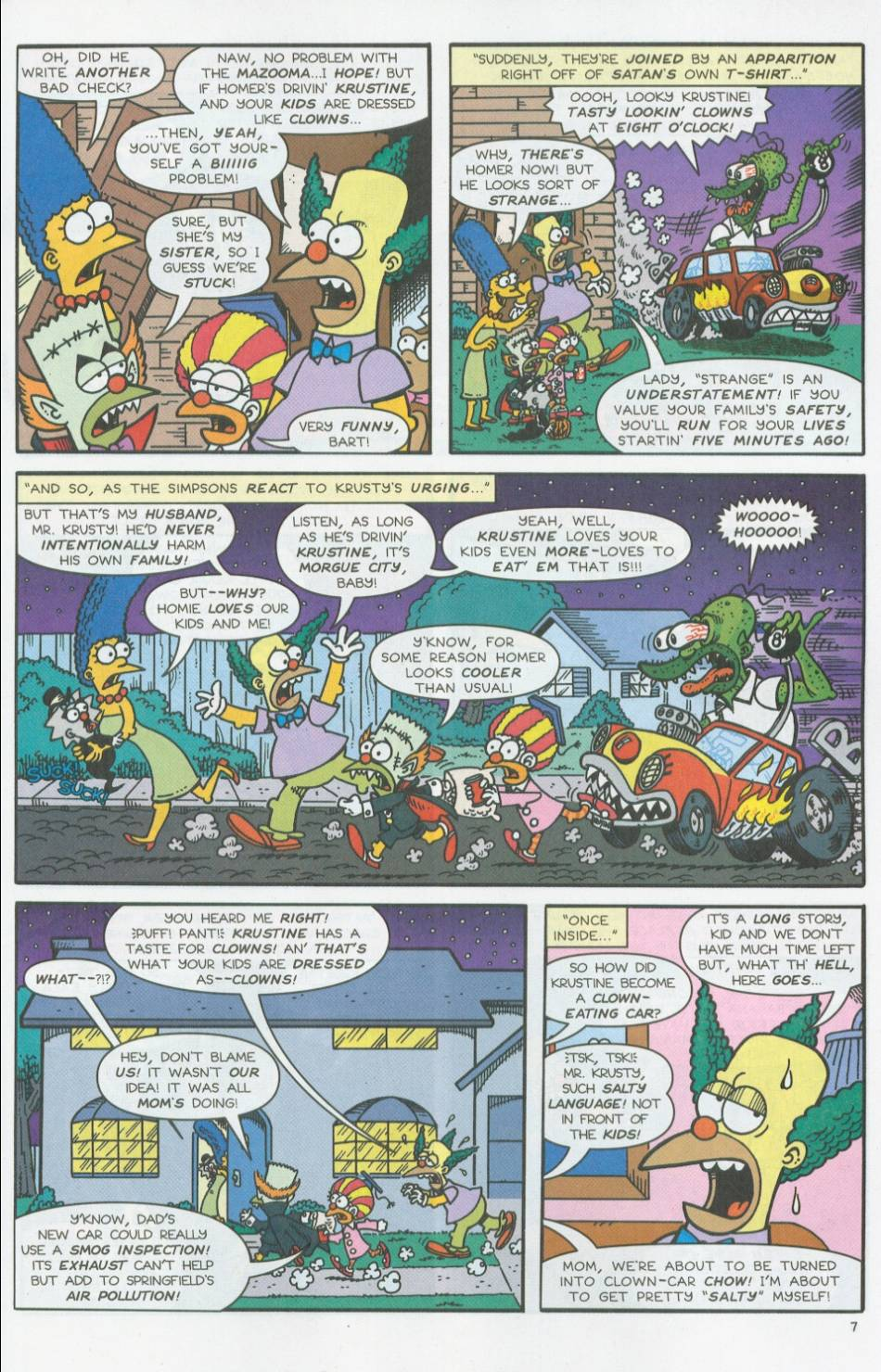 Read online Treehouse of Horror comic -  Issue #8 - 28