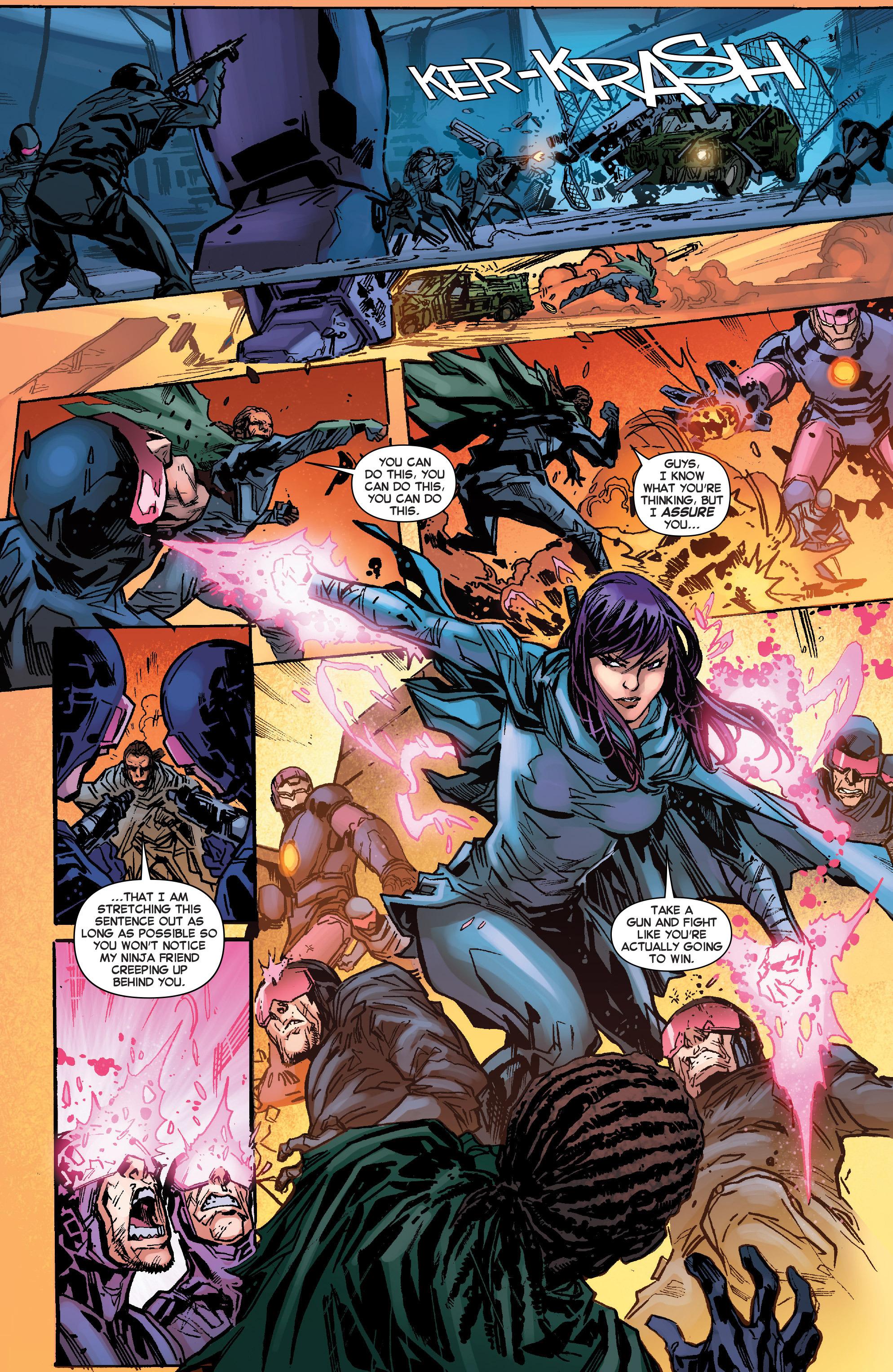 Read online Secret Wars Journal comic -  Issue #4 - 16