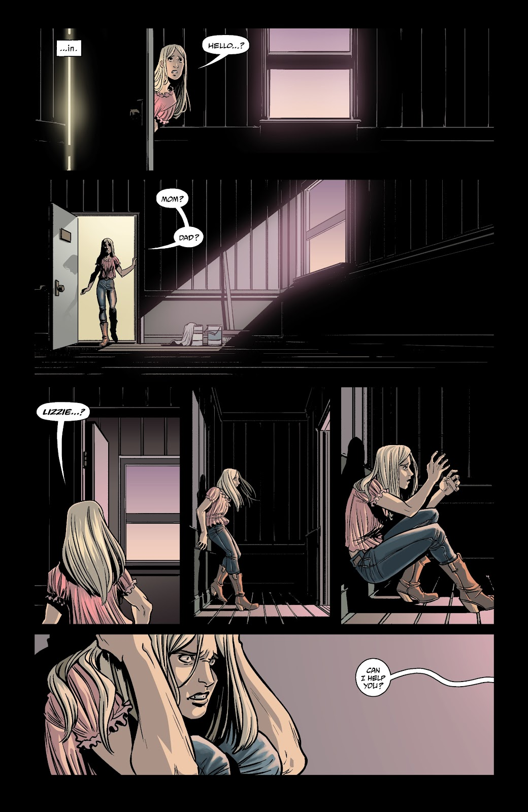 Read online The Girl In The Bay comic -  Issue #1 - 15