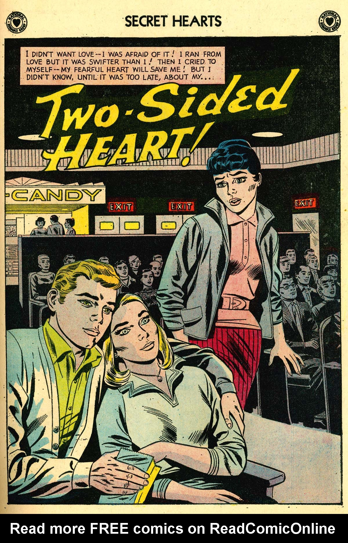 Read online Secret Hearts comic -  Issue #56 - 27