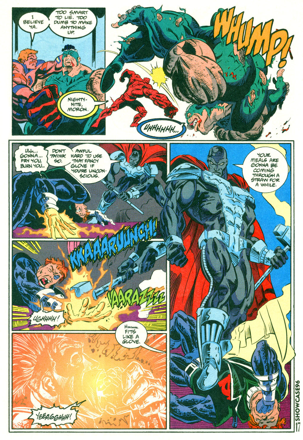 Read online Showcase '96 comic -  Issue #2 - 15