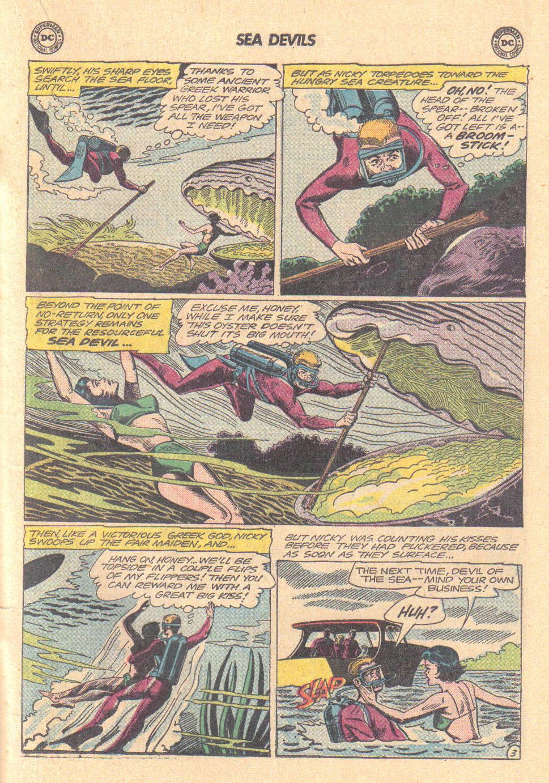 Read online Sea Devils comic -  Issue #16 - 19