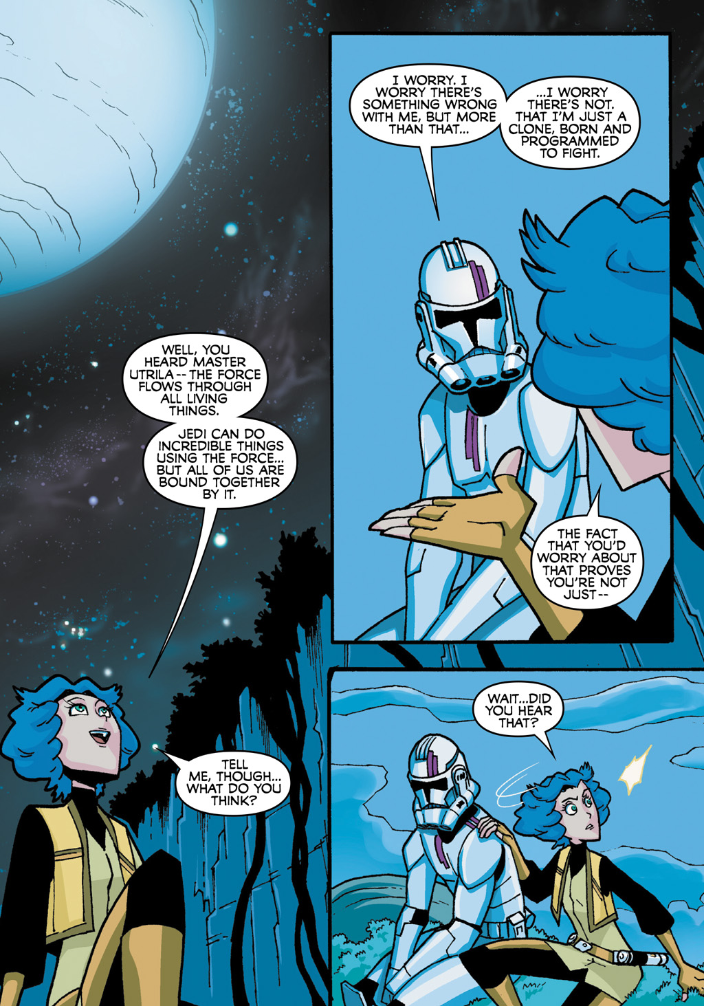 Read online Star Wars: The Clone Wars - Defenders of the Lost Temple comic -  Issue # Full - 45