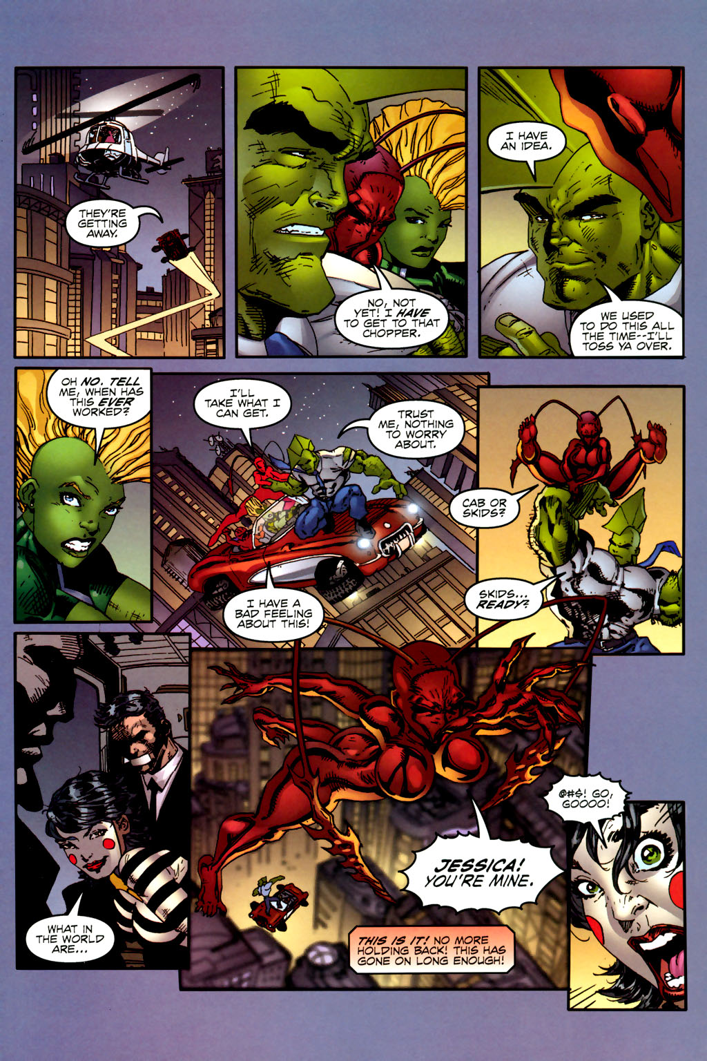 Read online Ant comic -  Issue #2 - 21