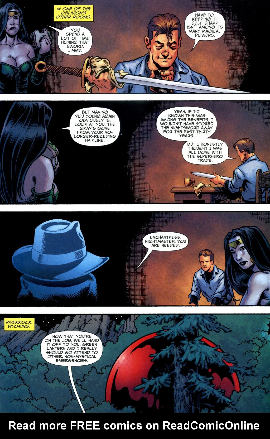 Read online Shadowpact comic -  Issue #1 - 15