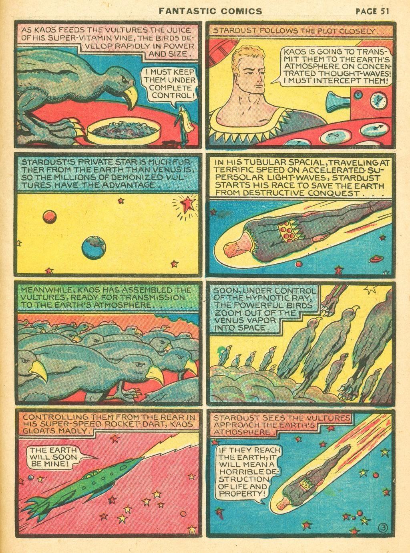 Read online Fantastic Comics comic -  Issue #12 - 53