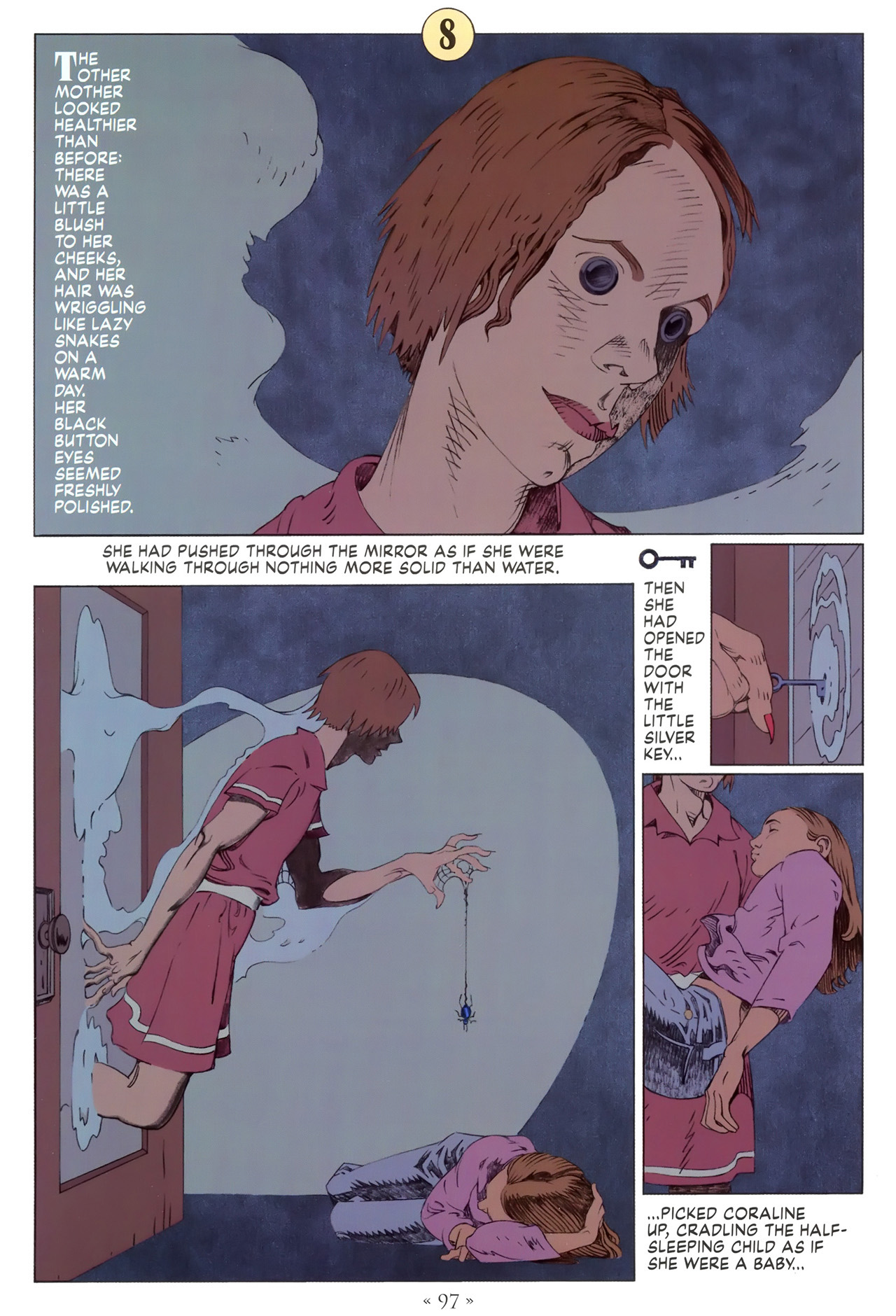 Read online Coraline comic -  Issue #1 - 103