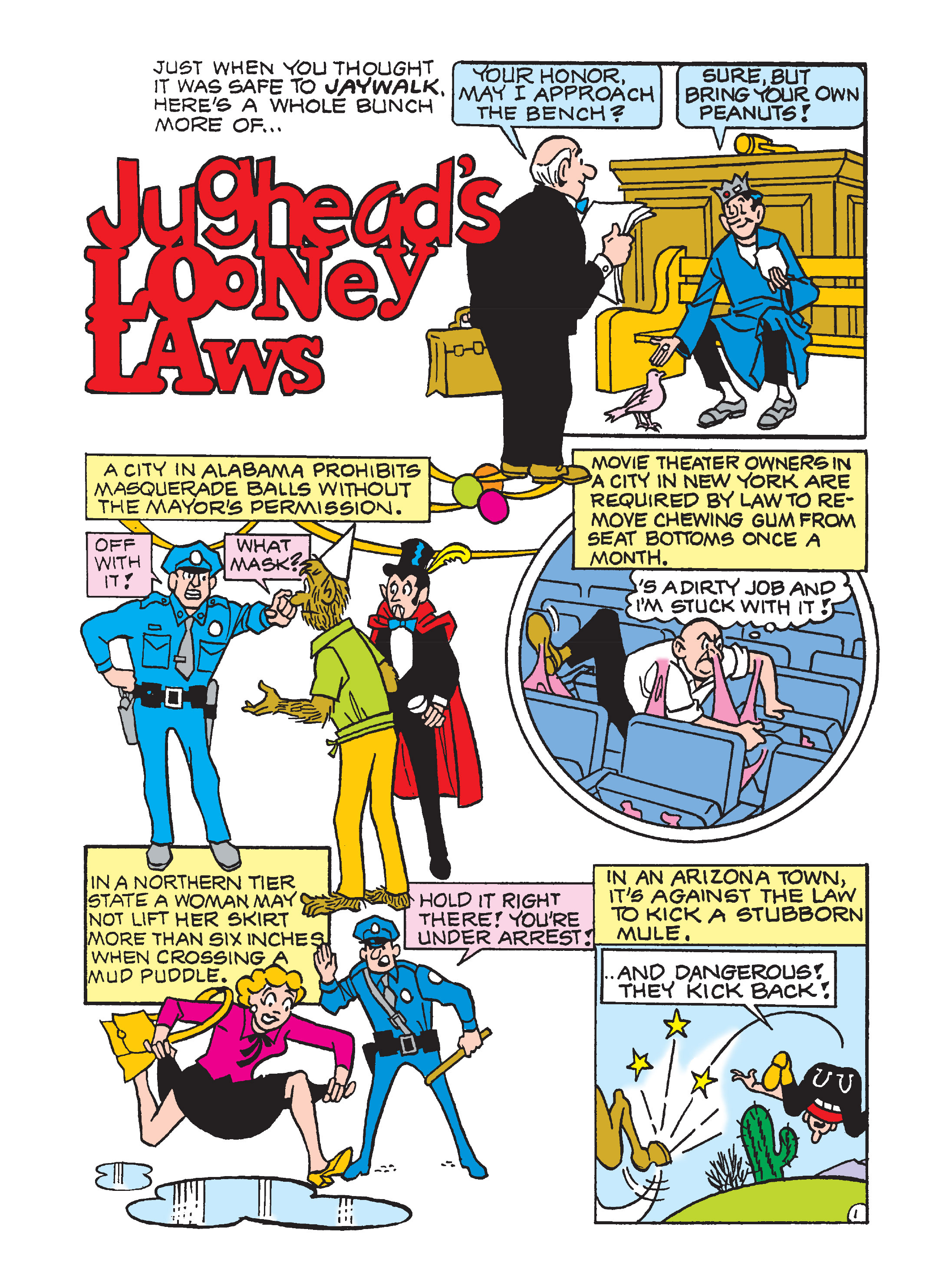 Read online Archie's Funhouse Double Digest comic -  Issue #2 - 124