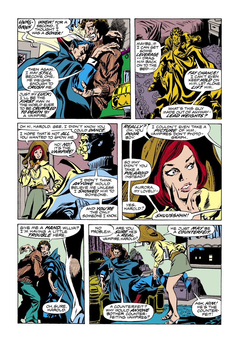 Tomb of Dracula (1972) issue 38 - Page 3