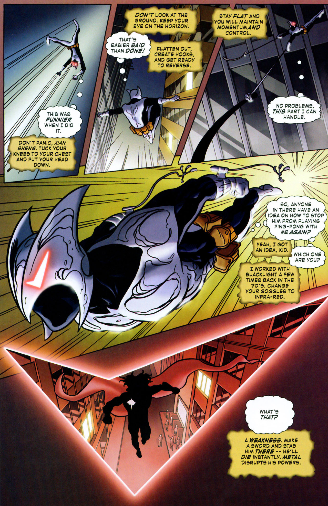 Read online ShadowHawk (2005) comic -  Issue #1 - 22