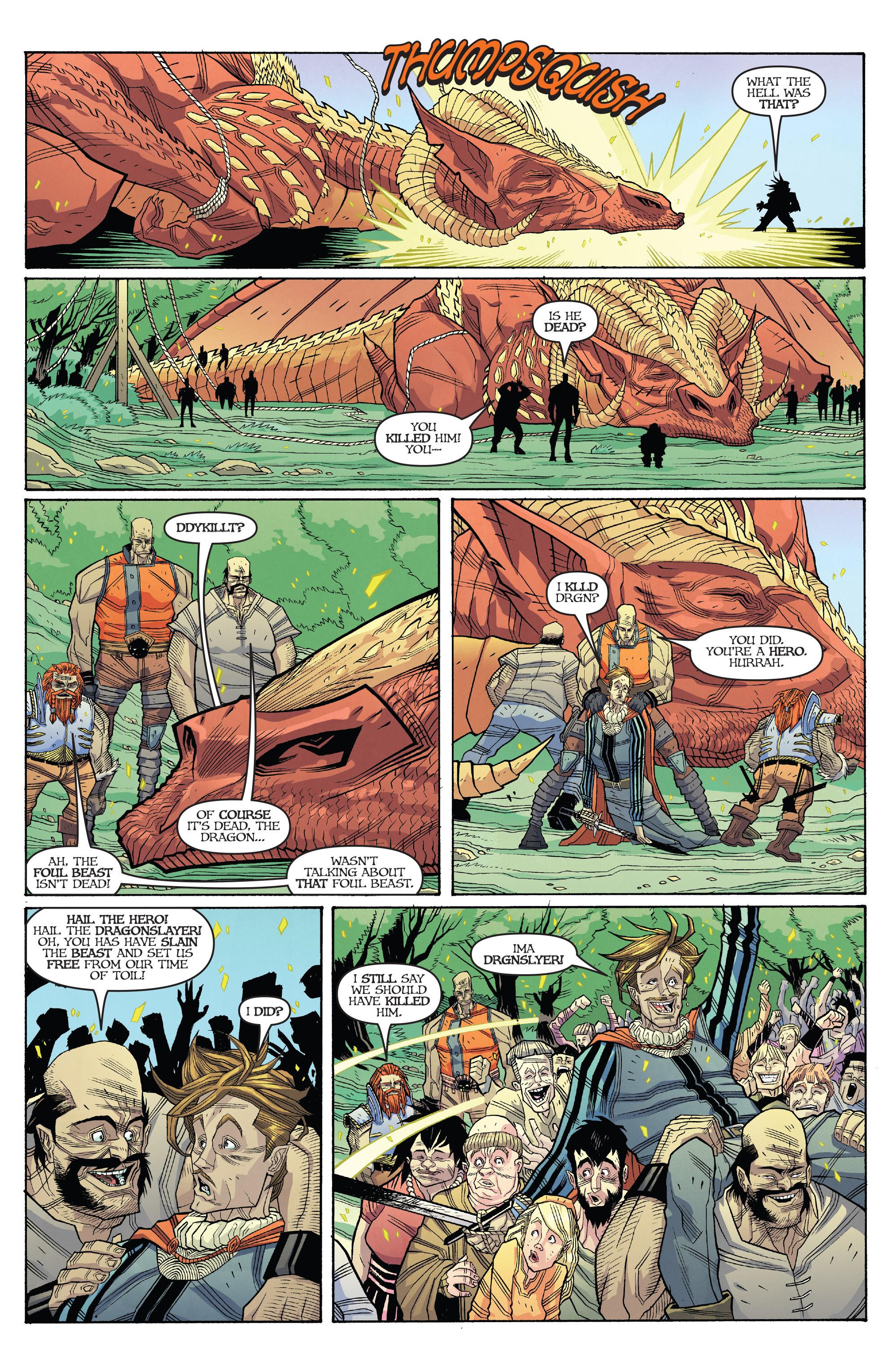 Read online Skullkickers comic -  Issue #18 - 8