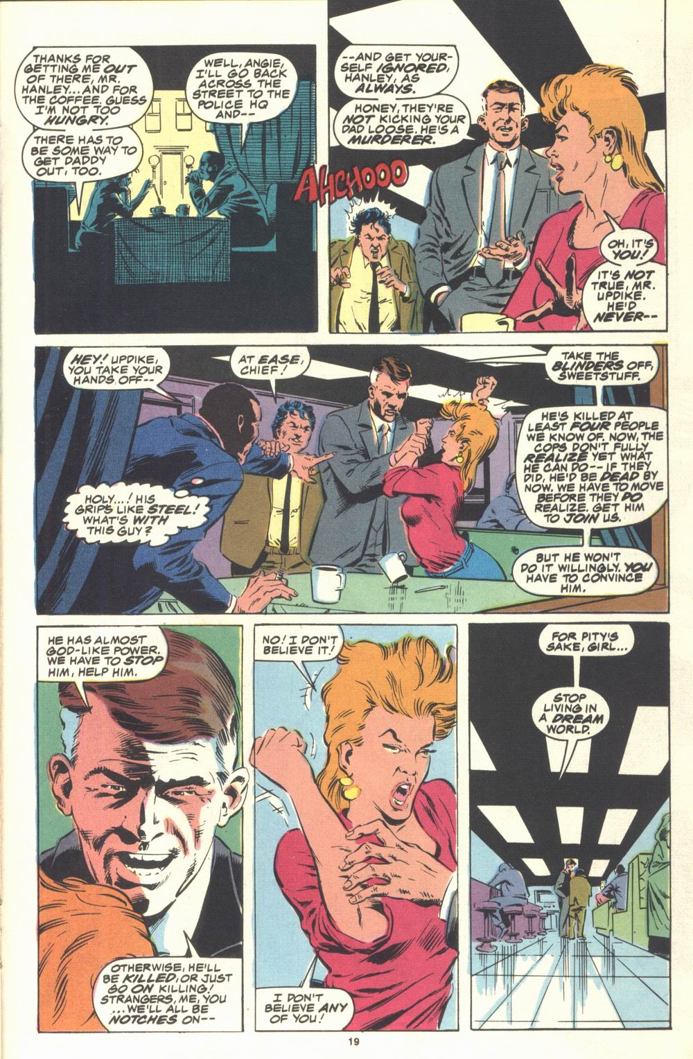 Read online Justice (1986) comic -  Issue #21 - 21
