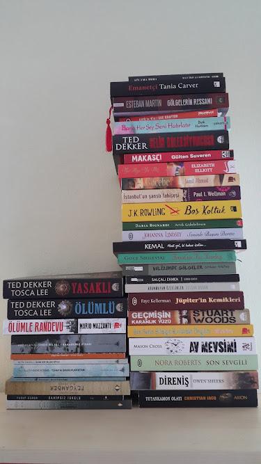 Takas kitaplarım