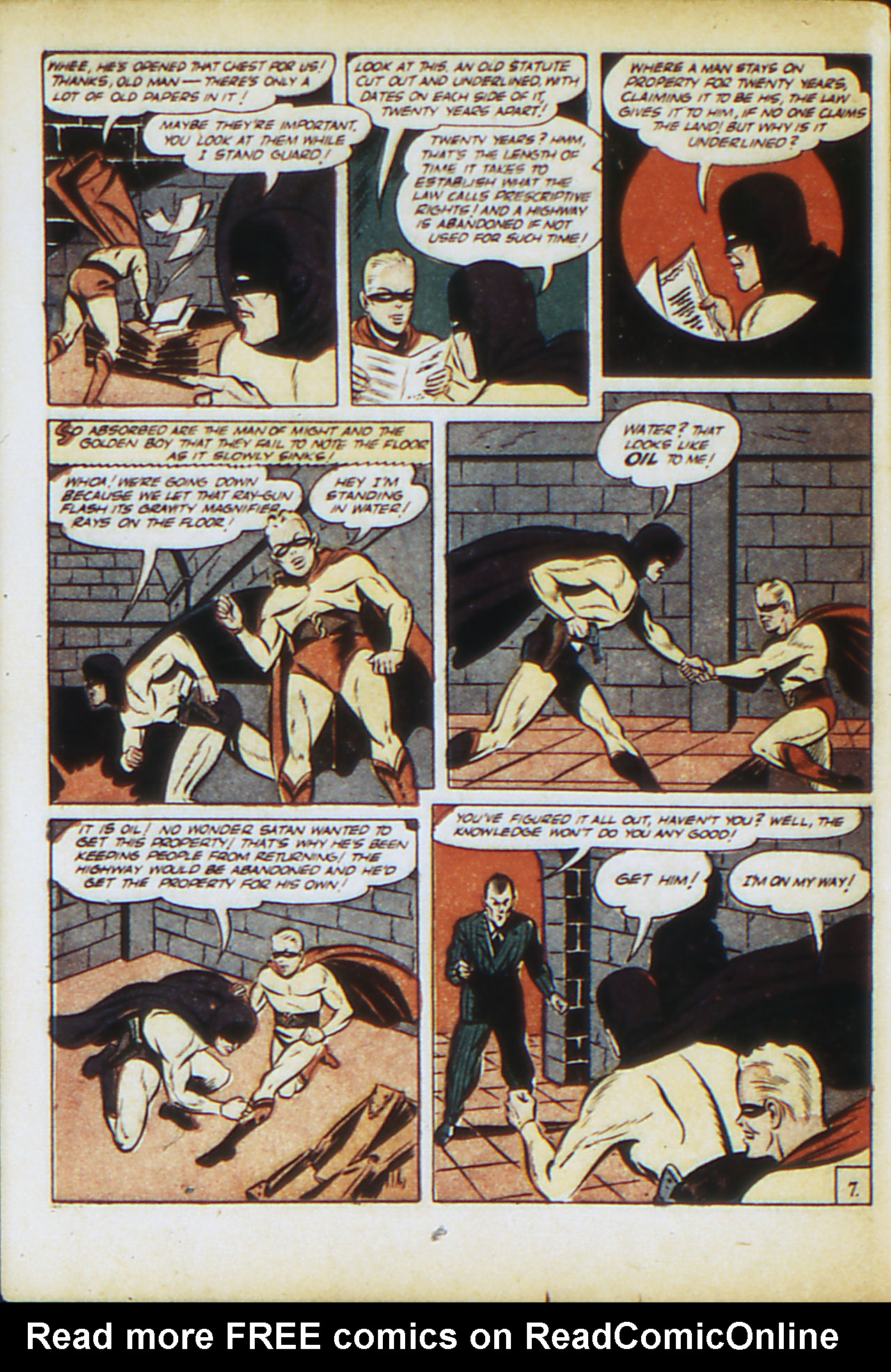 Read online Adventure Comics (1938) comic -  Issue #71 - 65