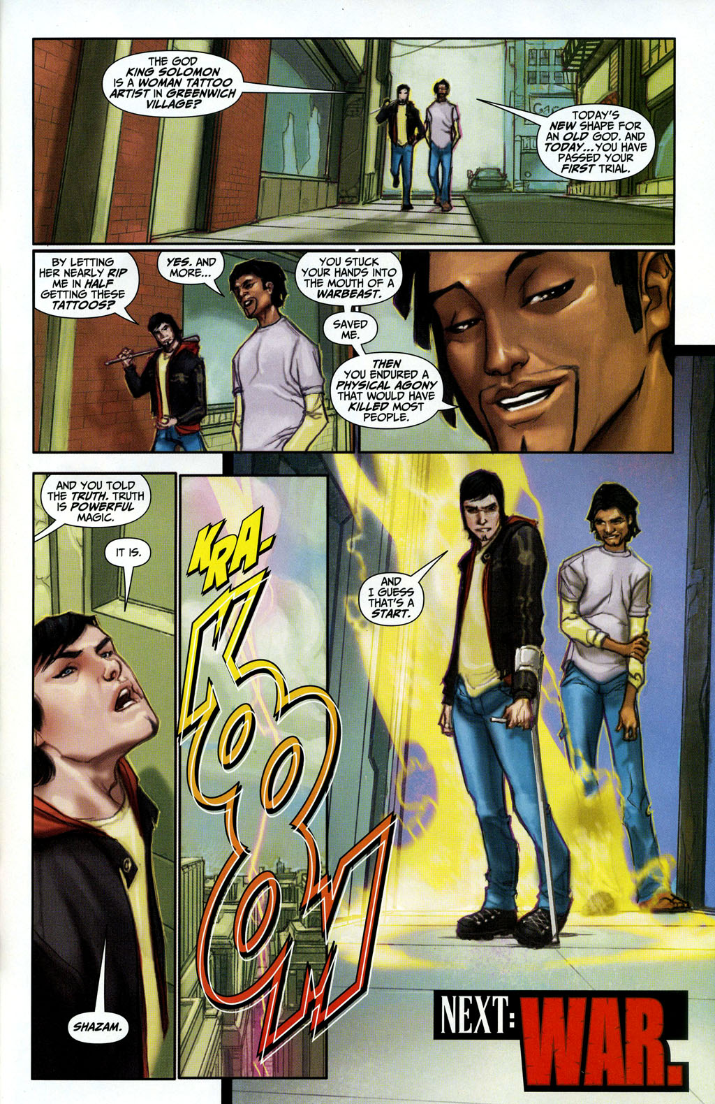 Read online Trials of Shazam comic -  Issue #3 - 23