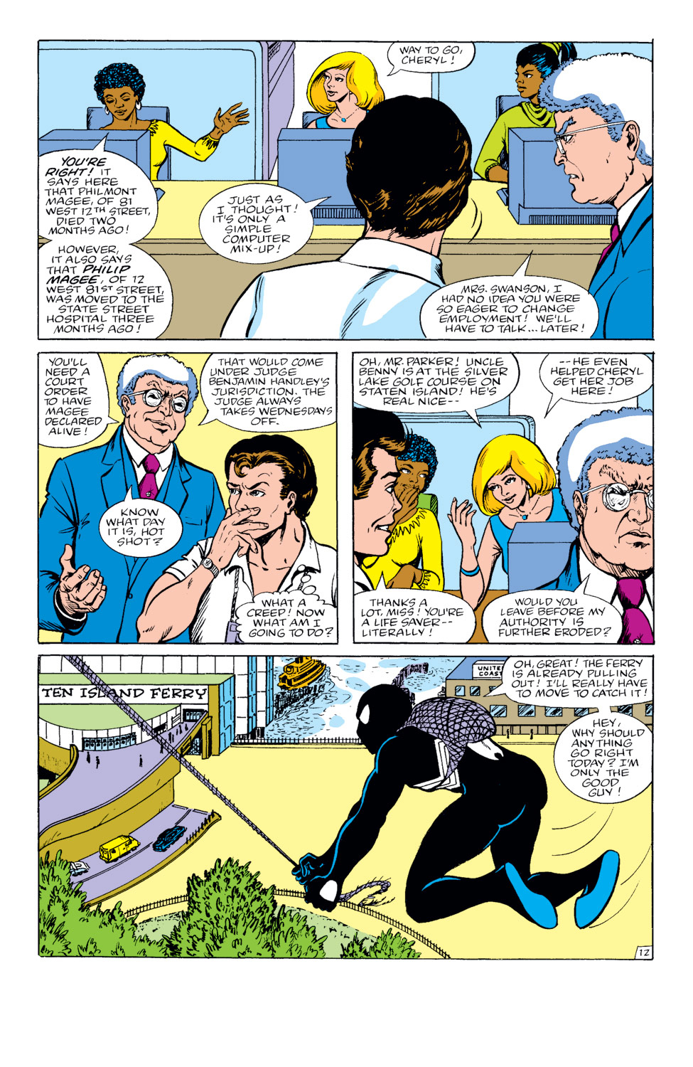 The Amazing Spider-Man (1963) 264 Page 12