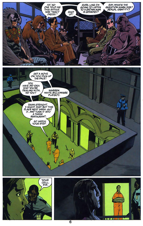 Read online Arkham Asylum: Living Hell comic -  Issue #1 - 8