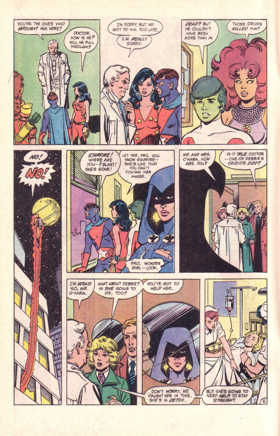 Read online The New Teen Titans (Drug Awareness Specials) comic -  Issue #2 - 8