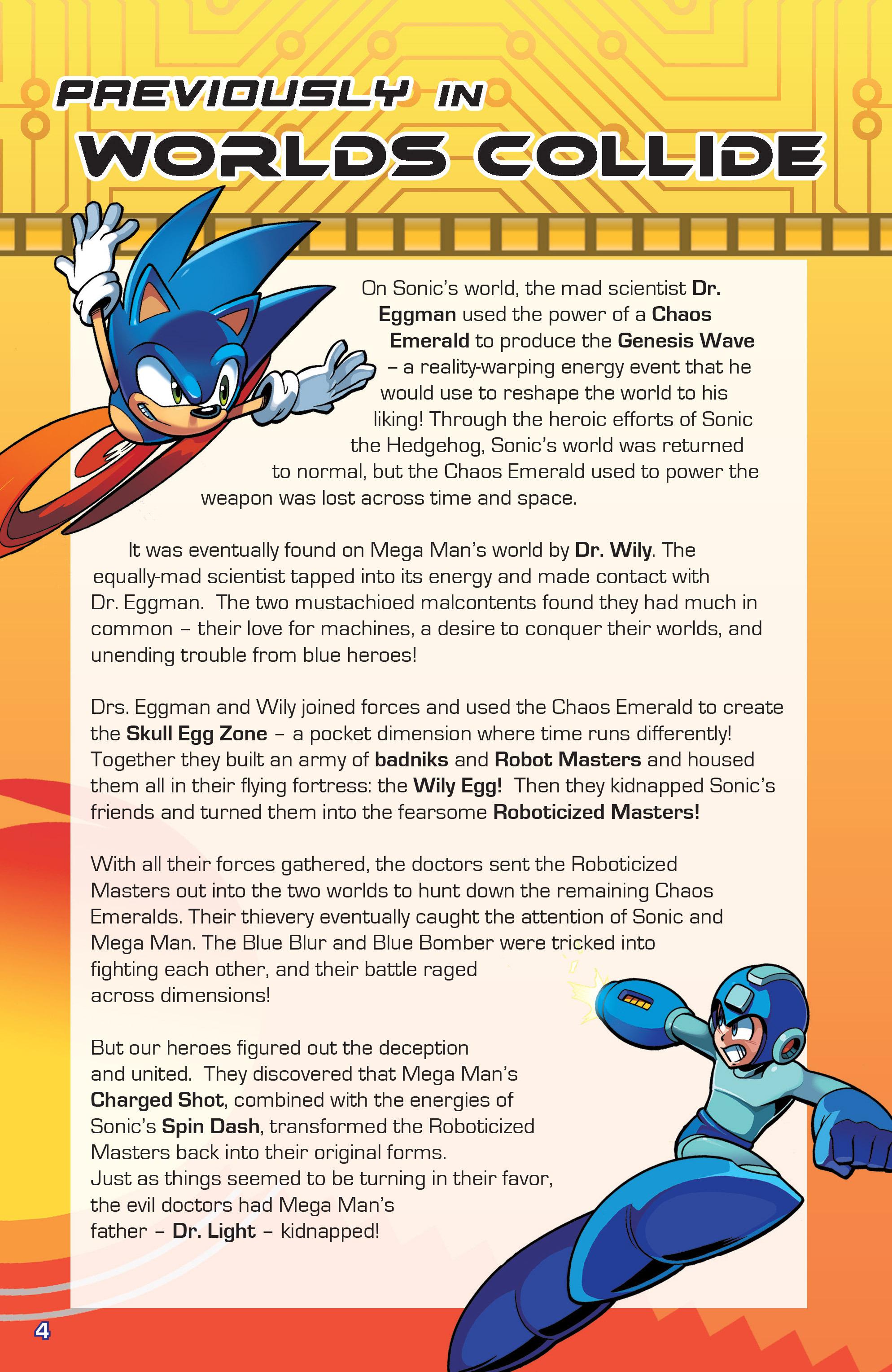 Read online Sonic Mega Man Worlds Collide comic -  Issue # Vol 3 - 4