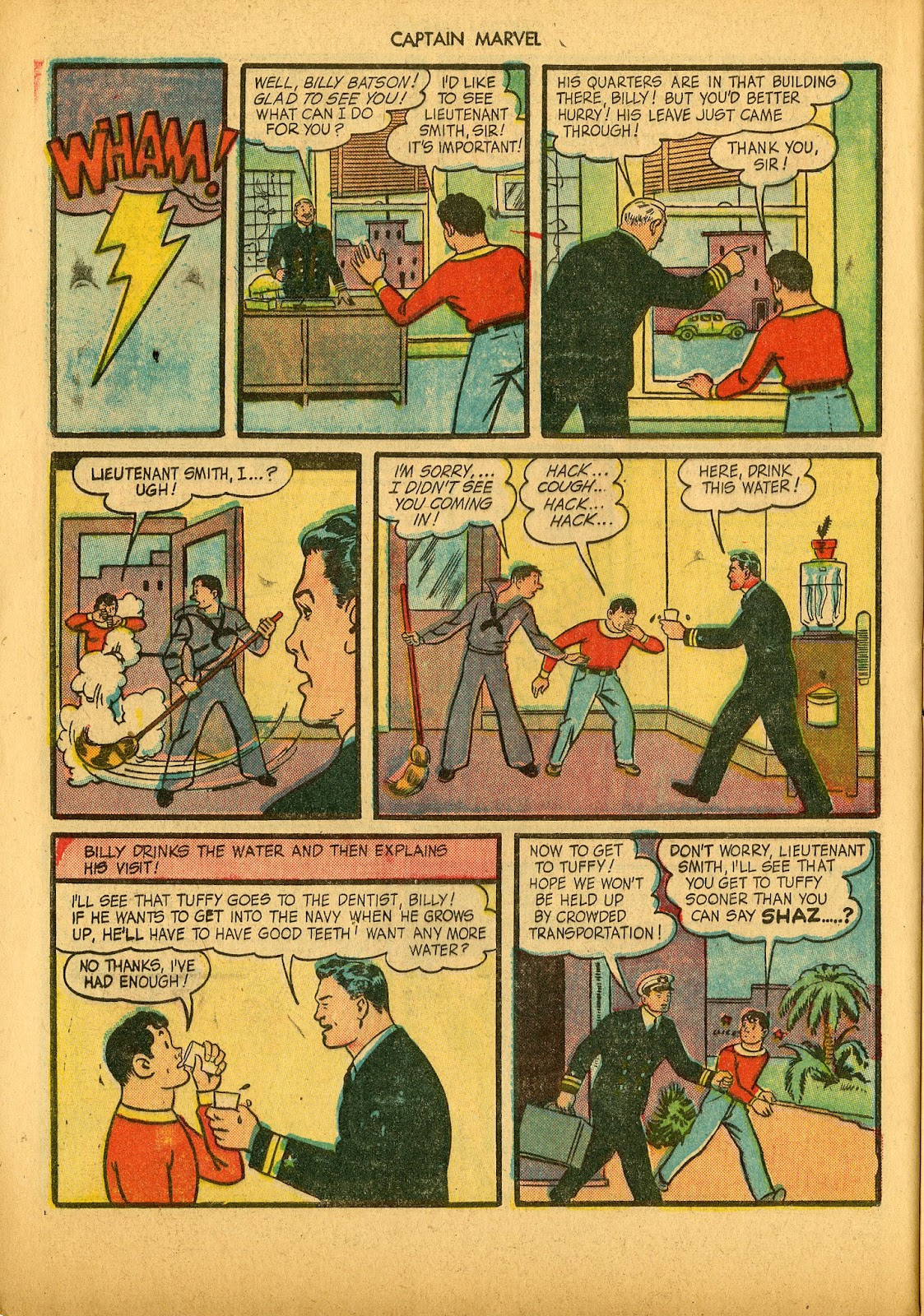 Captain Marvel Adventures issue 36 - Page 32