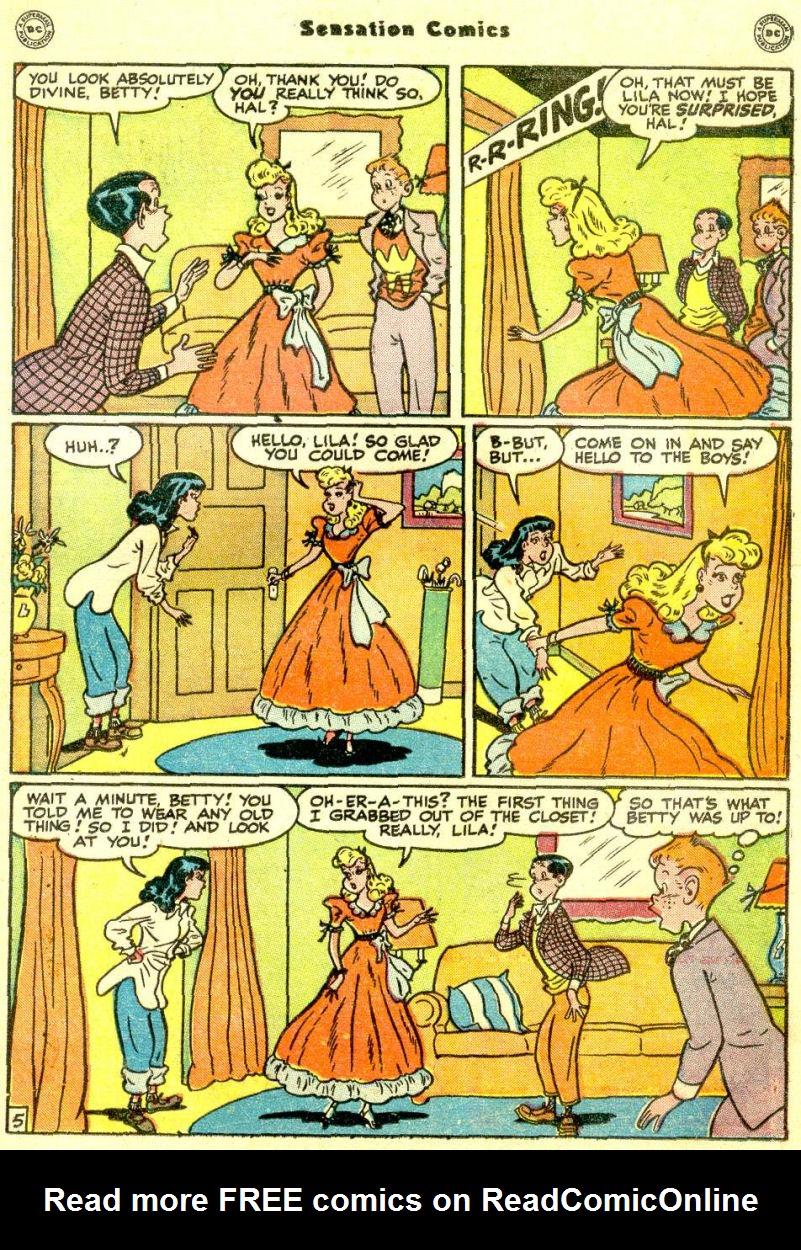 Read online Sensation (Mystery) Comics comic -  Issue #77 - 37