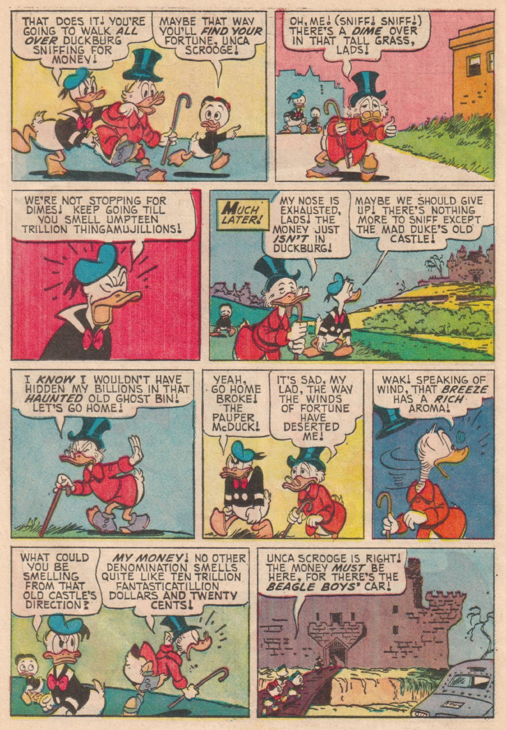 Read online Uncle Scrooge (1953) comic -  Issue #63 - 24
