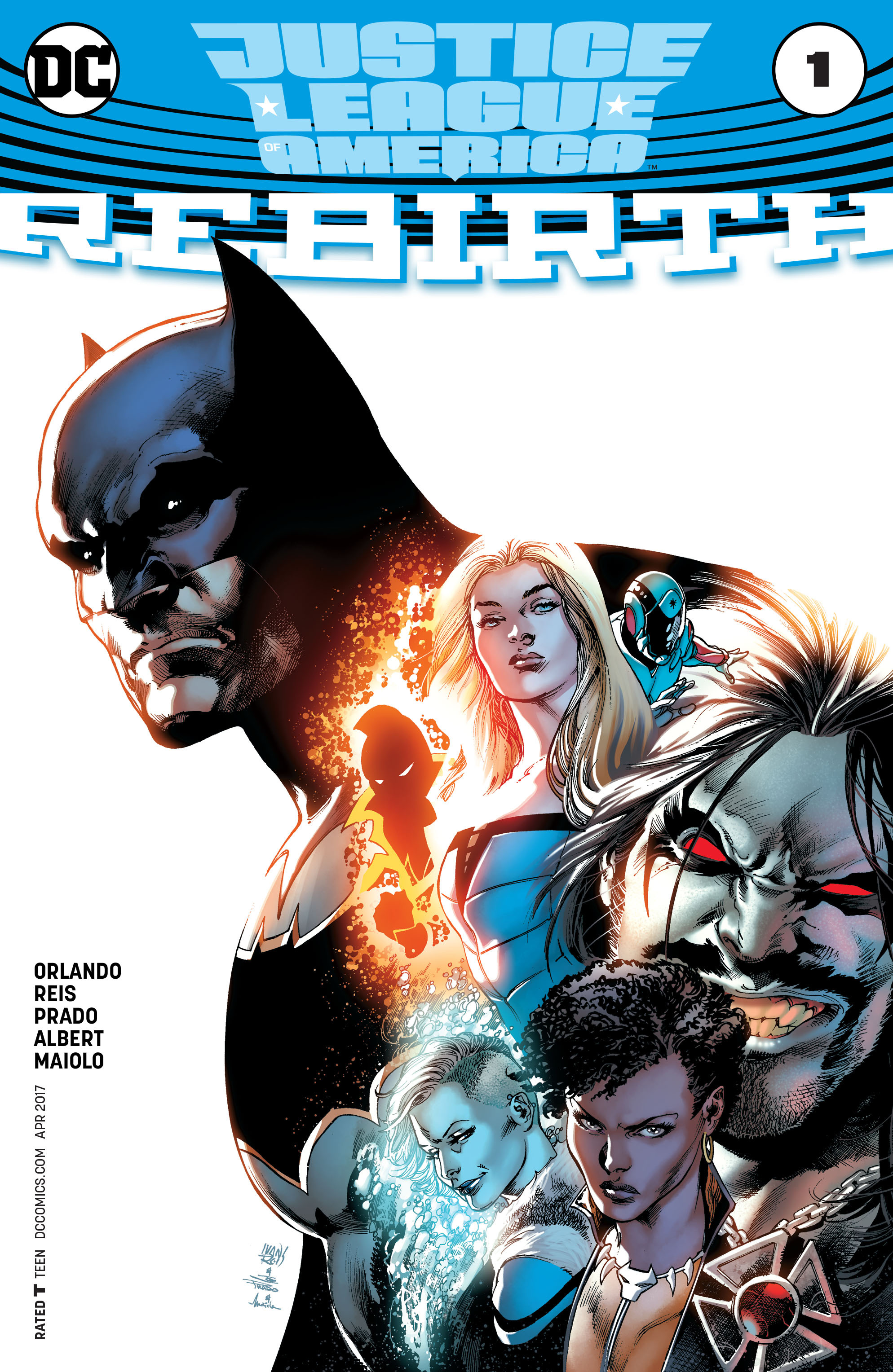 Justice League of America: Rebirth Full Page 1