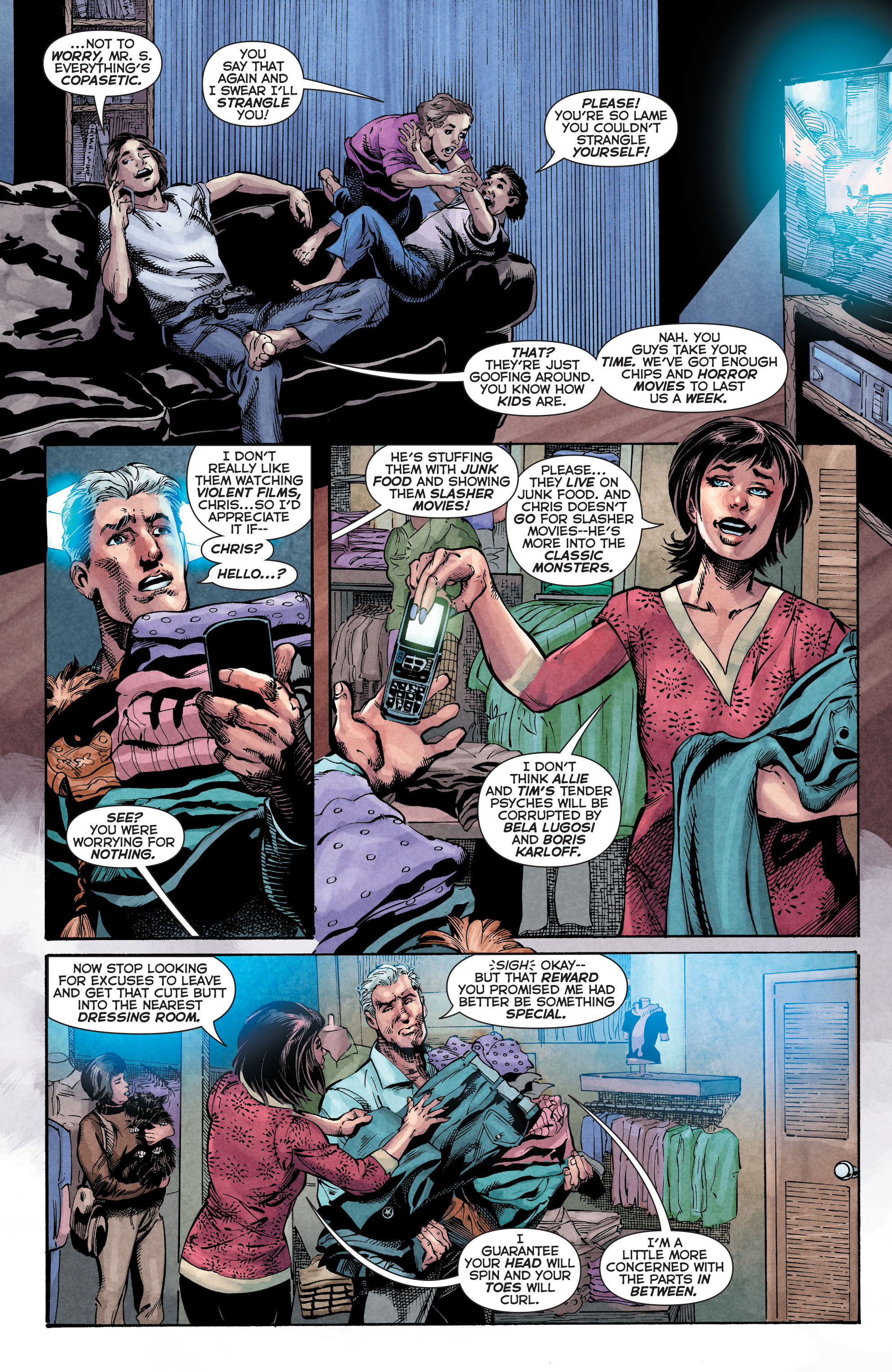 Read online Trinity of Sin: The Phantom Stranger comic -  Issue #4 - 5