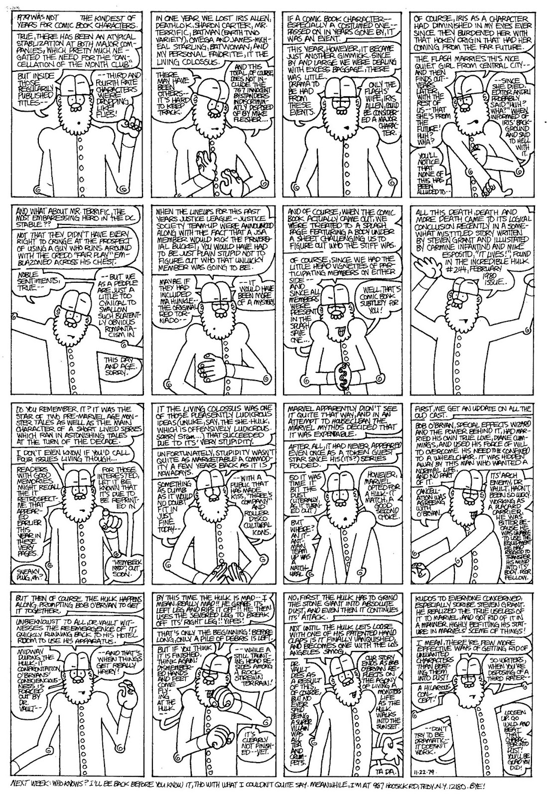 Read online The Nearly Complete Essential Hembeck Archives Omnibus comic -  Issue # TPB (Part 4) - 41