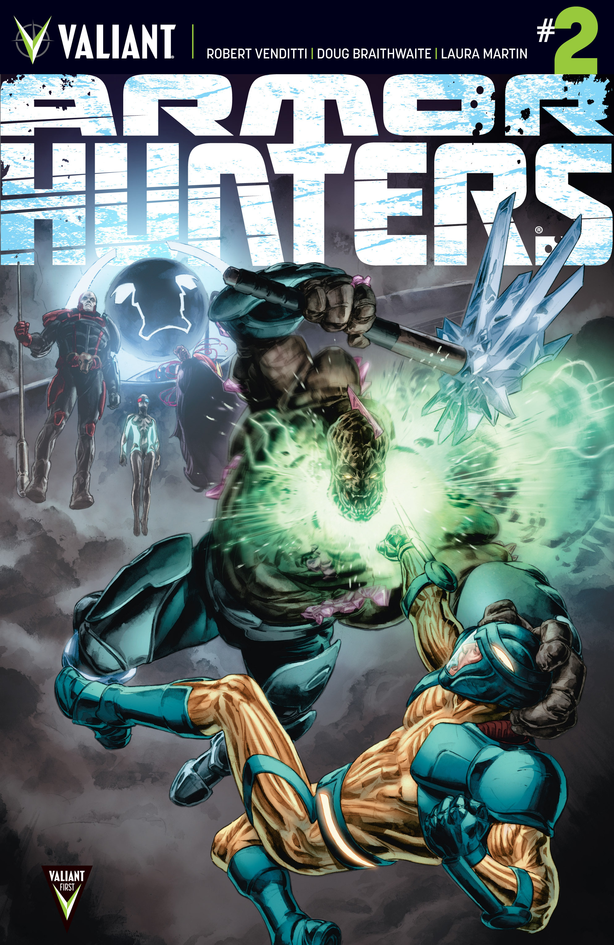 Read online Armor Hunters comic -  Issue #2 - 1