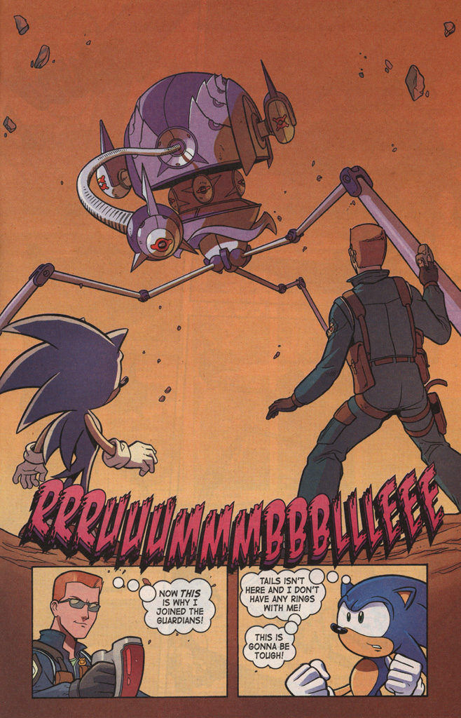 Read online Sonic X comic -  Issue #7 - 25