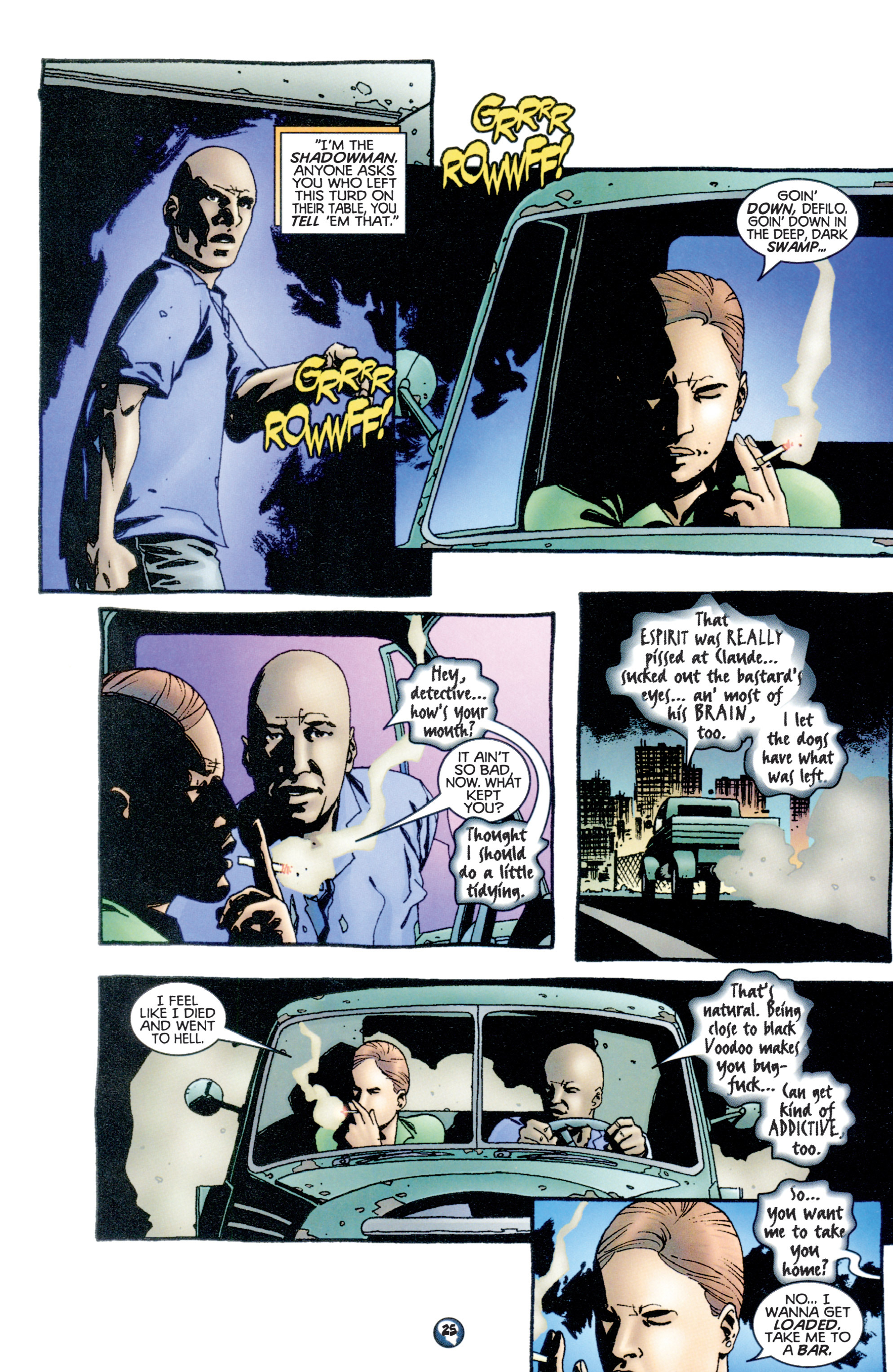 Read online Shadowman (1997) comic -  Issue #10 - 20