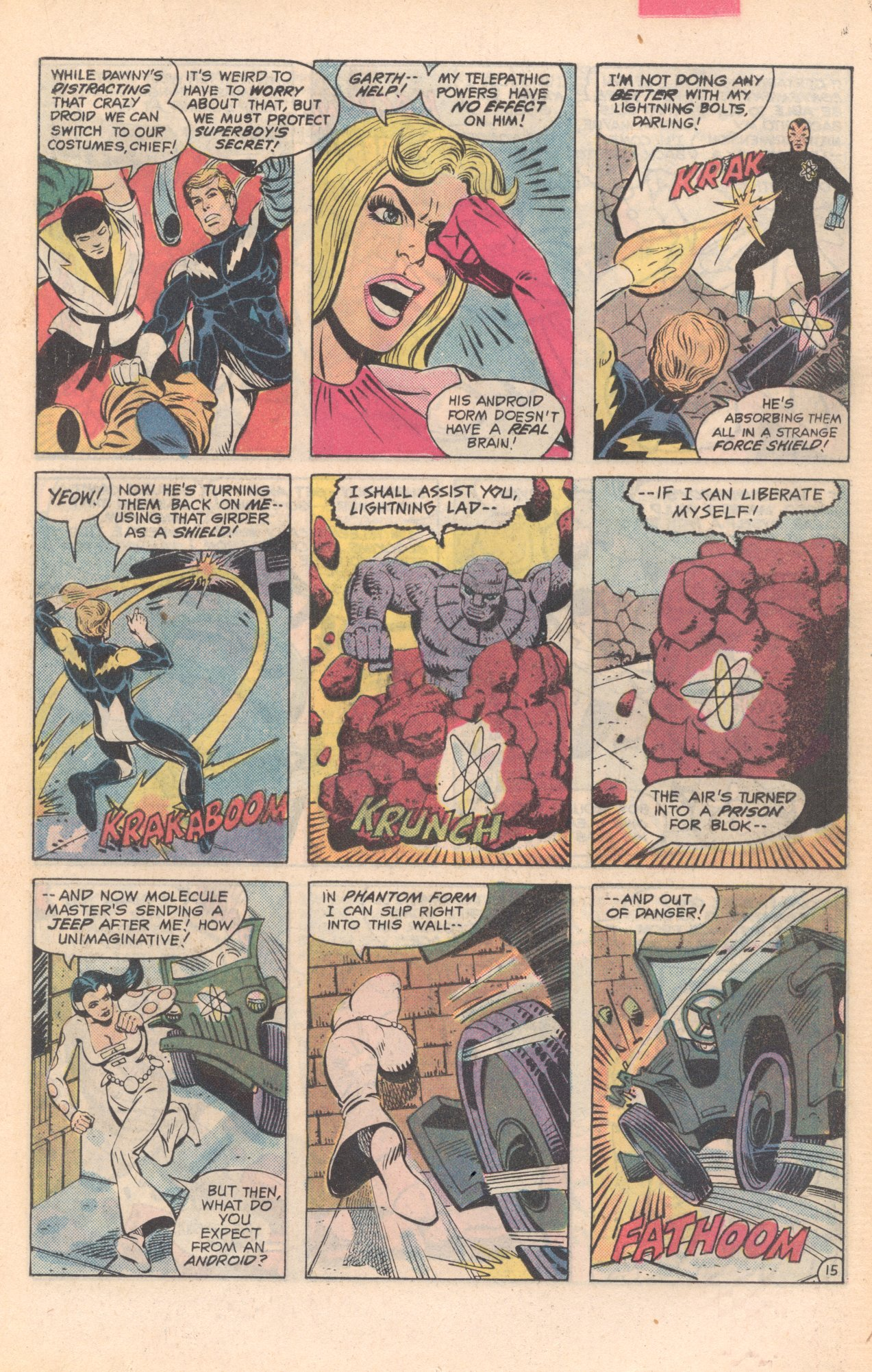 Legion of Super-Heroes (1980) 281 Page 15