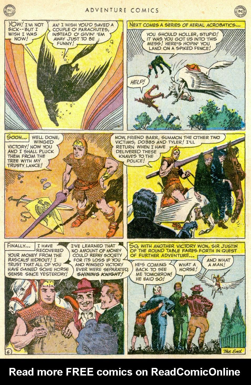 Read online Adventure Comics (1938) comic -  Issue #161 - 22
