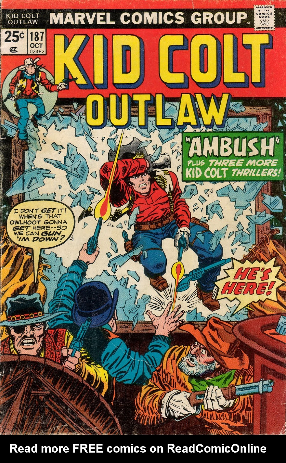 Kid Colt Outlaw issue 187 - Page 1
