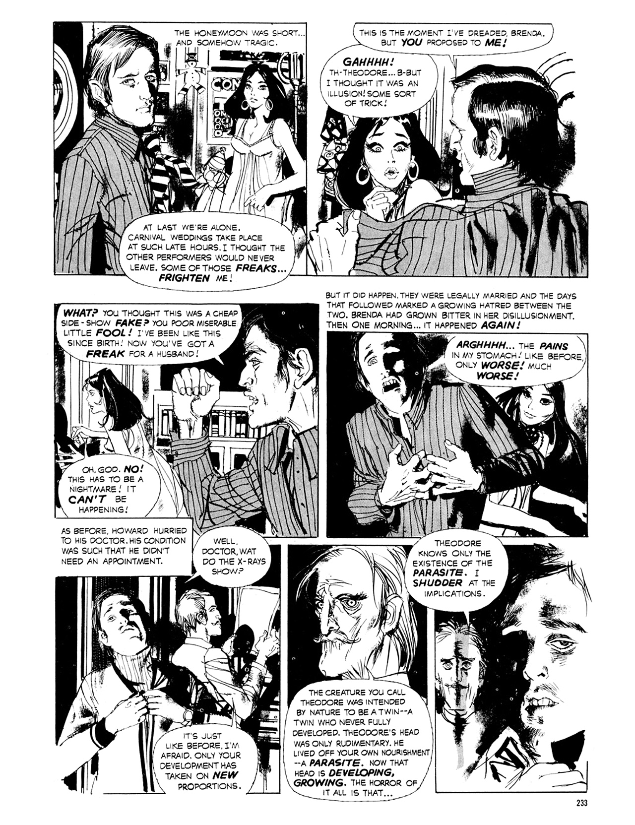Read online Eerie Archives comic -  Issue # TPB 8 - 234