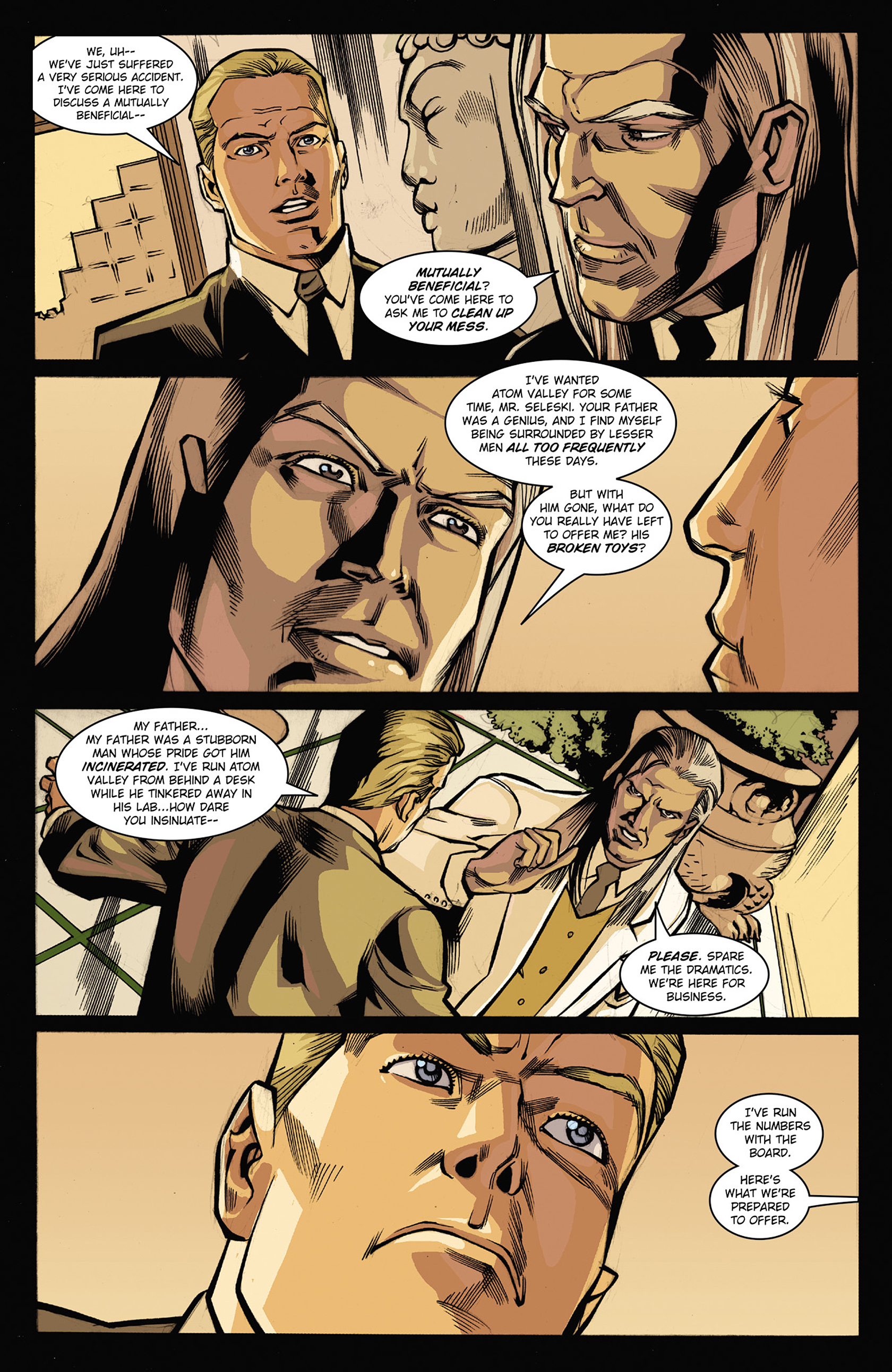 Read online Solar: Man of the Atom (2014) comic -  Issue #3 - 14