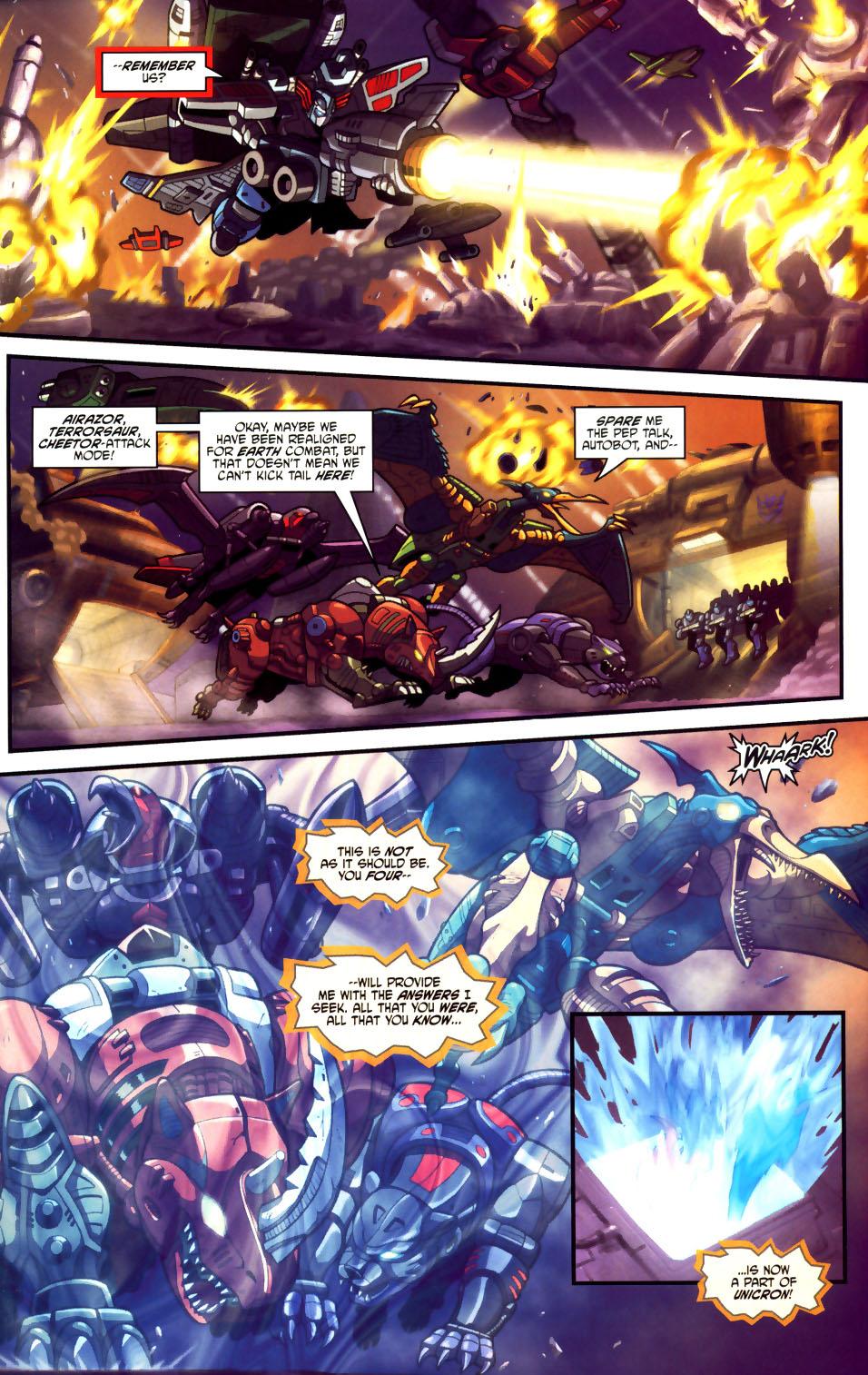 Read online Transformers Armada comic -  Issue #18 - 18